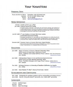 effective resume writing Idealvistalistco