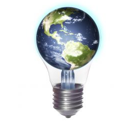 The world as a light bulb